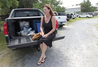 Margaret Carruth: In the depths of an oil spill depression (AP)