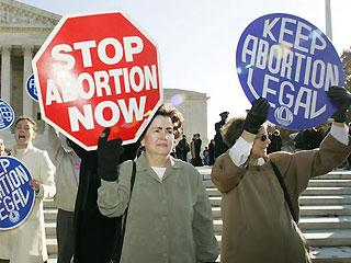 Abortion: Often emotional arguments on both sides.