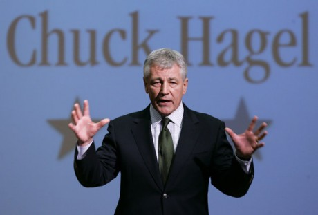 Sen. Chuck Hagel  (AP Photo/Nati Harnik)