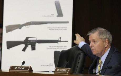 Senate Judiciary Committee member Sen. Lindsey Graham, R-S.C. (AP Photo/Susan Walsh, File)
