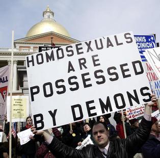 Ron paul gay position