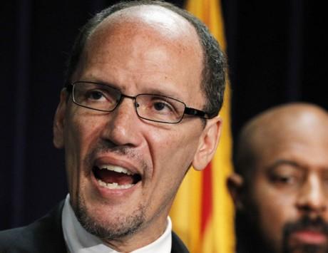 Labor Secretary nominee Thomas Perez. (AP Photo/Ross D. Franklin, File)