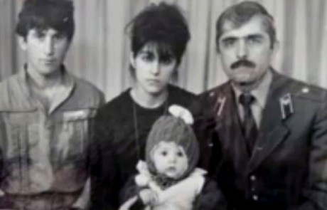 Video capture of the Tsarnaev family in Russian years ago.