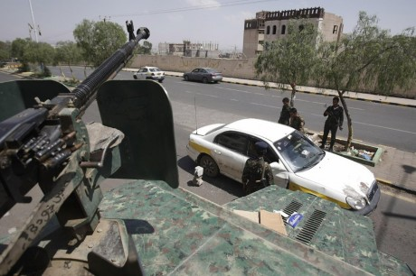 Checkpoint in Yemen (AP)