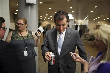 U.S. Senator Ted Cruz (R-TX).  (REUTERS/Jonathan Ernst)