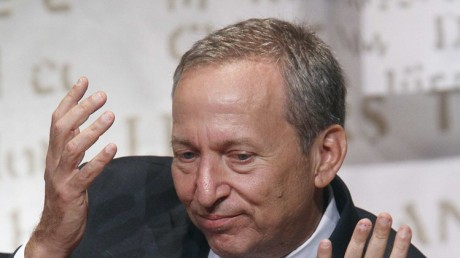 Lawrence Summers. (REUTERS/Carlo Allegri)