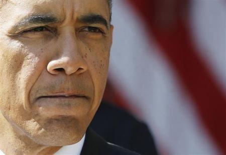 President Barack Obama: Lots of resolve (Reuters/Larry Downing)