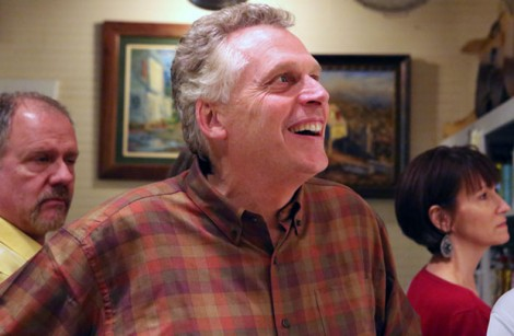 Terry McAuliffe, Democratic candidate for governor in Virginia, leading in all pre-election polls. (Photo by Doug Thompson)