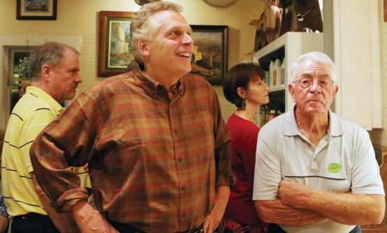 Virginia governor-elect Terry McAuliffe (Photo by Doug Thompson)
