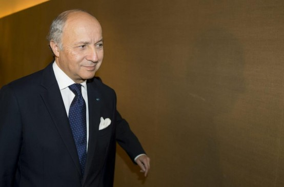 French foreign minister Laurent Fabius (AP/Pool)