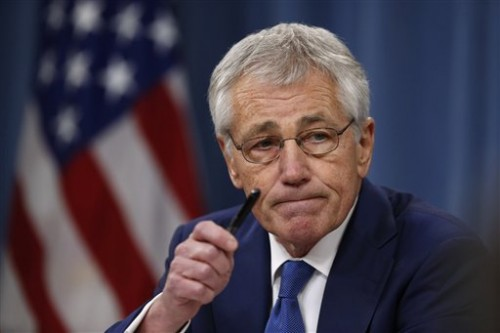 Defense Secretary Chuck Hagel. (AP Photo/Charles Dharapak)