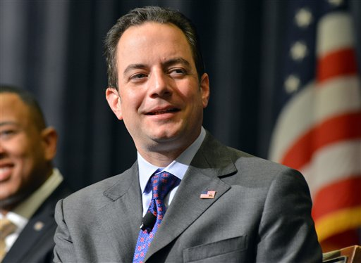 Republican National Committee Chairman Reince Priebus.  (AP Photo/Josh Reynolds, File)