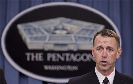 Adm. John M. Richardson, director of the Naval Nuclear Propulsion Program.  (AP Photo/Manuel Balce Ceneta)