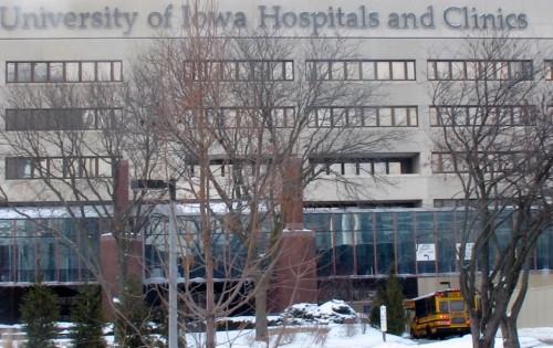 University of Iowa Hospitals and Clinics in Iowa City decided not to bill the state for Medicaid-funded abortions, working around a new law that requires Iowa Gov. Terry Branstad to approve any payments for publicly-funded abortions. (AP Photo/Ryan J. Foley)