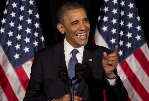 President Barack Obama: Big fundraiser for Democrats. (AP Photo/Carolyn Kaster)