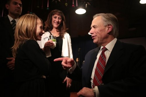Greg Abbott. (AP Photo/The Daily Texan, Shelby Tauber)