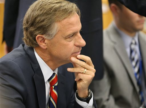 Tennessee Gov. Bill Haslam   (AP Photo/Daily News Journal, Helen Comer)