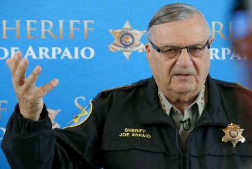 Maricopa County Sheriff Joe Arpaio: A loudmouth and a racist.  (AP Photo/Ross D. Franklin)