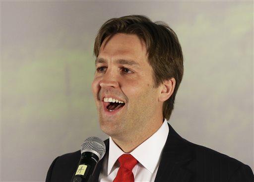 Republican Senate hopeful Ben Sasse (AP Photo)