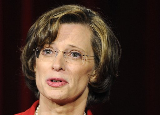 Georgia Democratic Senate candidate Michelle Nunn   (AP Photo/David Tulis)
