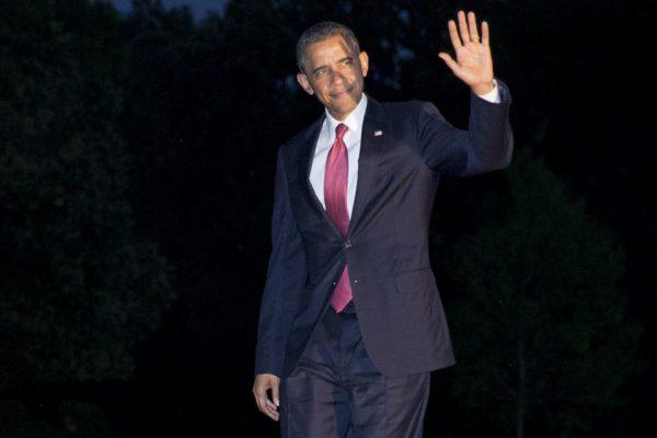 President Barack Obama returns to the White House in Washington  (AP Photo/Jacquelyn Martin)