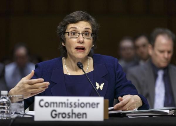 Erica L. Growhen, commissioner of labor statistics (AP Photo/J. Scott Applewhite,)