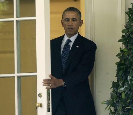 President Barack Obama (REUTERS/Gary Cameron)