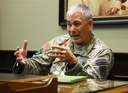 Army Gen. John Campbell  (AP Photo/John Milburn)