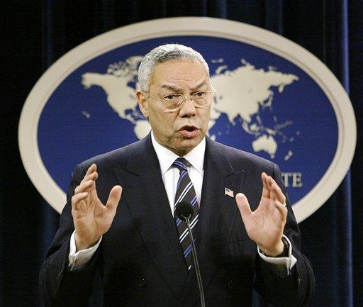 Secretary of State Colin Powell  (AP Photo/J. Scott Applewhite)