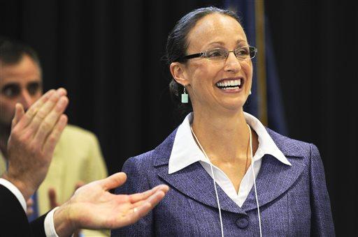 Amanda Curtis  (AP Photo/Independent Record, Thom Bridge)
