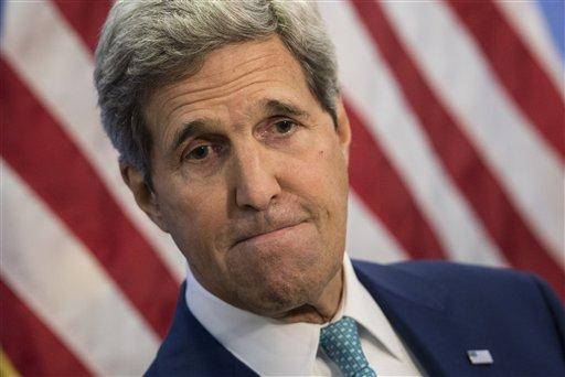 US Secretary of State John Kerry (AP Photo/Brendan Smialowski, Pool)