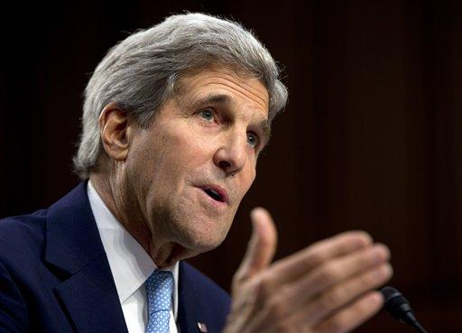 Secretary of State John Kerry  (AP Photo/Carolyn Kaster)