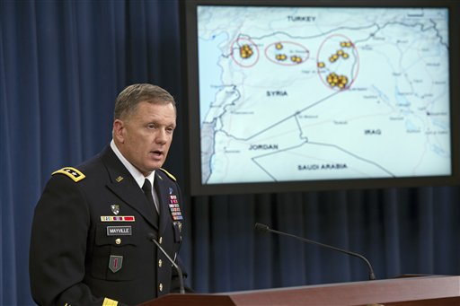 Army Lt. Gen. William Mayville, Jr., Director of Operations J3 (AP Photo/Cliff Owen)