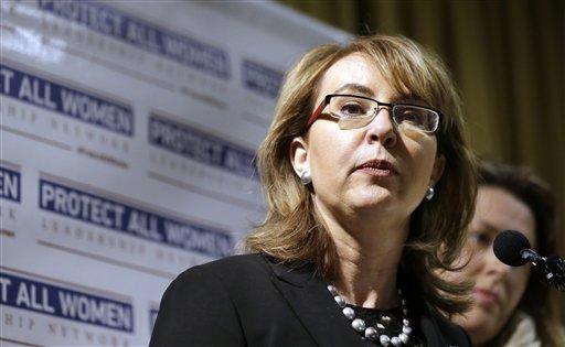 Former Arizona Rep. Gabby Giffords (AP Photo/Elaine Thompson, File)