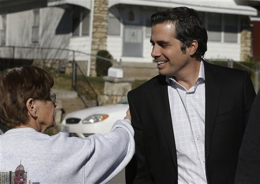 Independent senate candidate Greg Orman  (AP Photo/Orlin Wagner)
