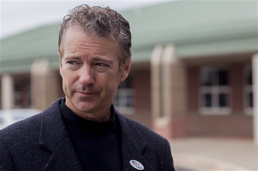 U.S. Sen. Rand Paul, R-Ky.  (AP Photo/The Daily News, Austin Anthony)