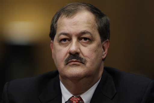 Former Massey Energy Company Chief Executive Officer Don Blankenship (AP Photo/Carolyn Kaster)