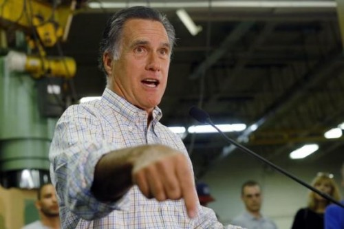 Former Republican presidential nominee Mitt Romney (REUTERS/Brian Snyder)