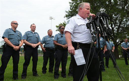 Ferguson Police Chief Tom Jackson (AP Photo/St. Louis Post-Dispatch, Robert Cohen)