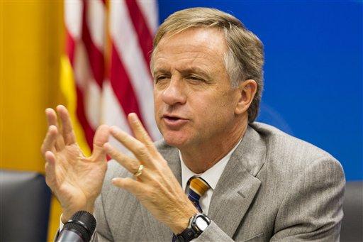 Tennessee Gov. Bill Haslam (AP Photo/Erik Schelzig)