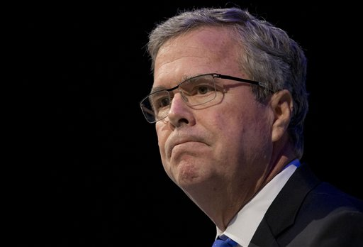 Former Florida Gov. Jeb Bus  (AP Photo/Paul Sancya)