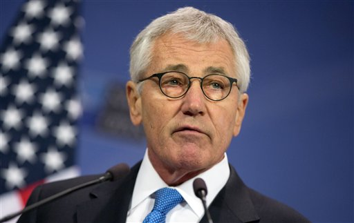 U.S. Secretary of Defense Chuck Hagel (AP Photo/Virginia Mayo)