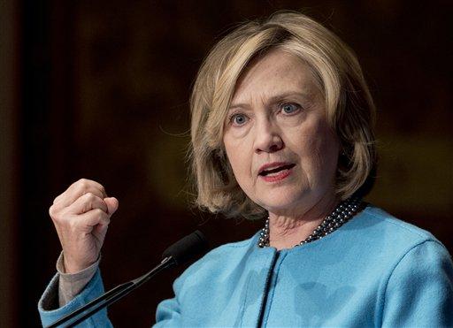 Former Secretary of State Hillary Rodham Clinton (AP Photo/Carolyn Kaster)