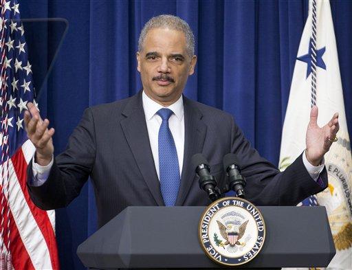 Attorney General Eric Holder  (AP Photo/Pablo Martinez Monsivais)