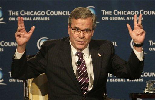 Former Florida Gov. Jeb. Bush  (AP Photo/M. Spencer Green)
