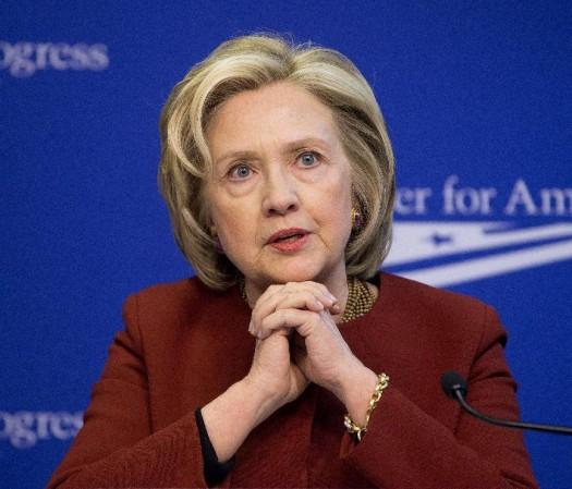 Former Secretary of State Hillary Rodham Clinton  (AP Photo/Pablo Martinez Monsivais, File)