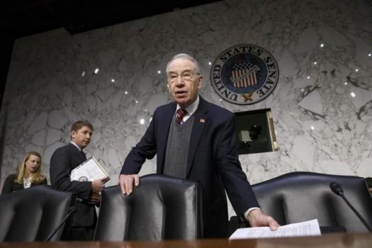 Senate Judiciary Committee Chairman Sen. Charles Grassley, R-Iowa.  (AP Photo/J. Scott Applewhite)