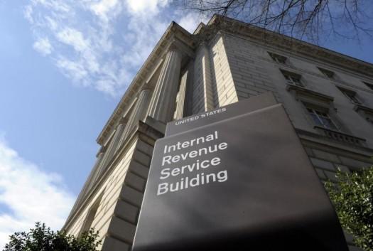 The Internal Revenue Service building in Washington.  (AP Photo/Susan Walsh)