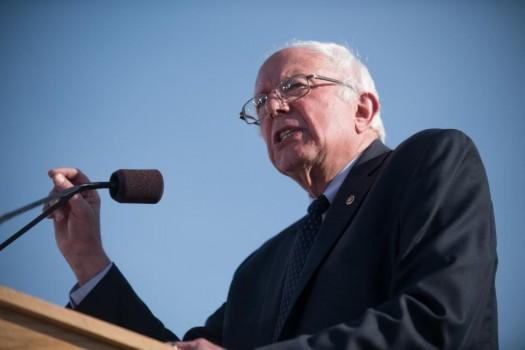 Sen. Bernie Sanders, I-Vt. (AP Photo/Andy Duback)