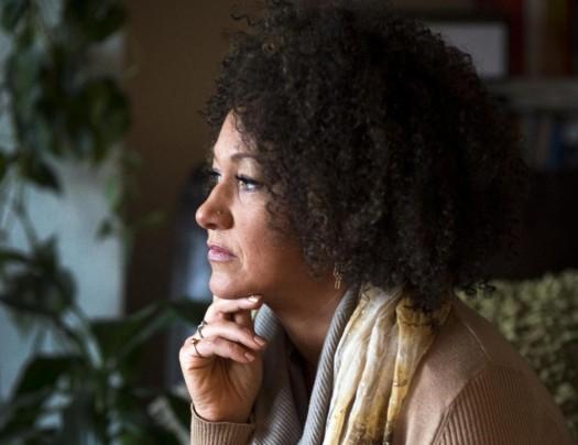 Rachel Dolezal, president of the Spokane chapter of the NAACP.  (Colin Mulvany/The Spokesman-Review via AP)